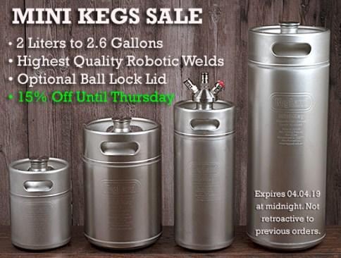 KegLand Mini Kegs
