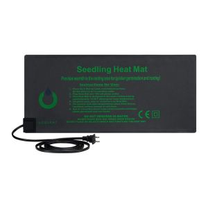 """Plant Heating Mat, OPULENT SYSTEMS Durable Waterproof Seedling Heat Mats Warm Hydroponic Heating Pad for Indoor Seedling and Germination 10""""x 20.75"""" MET Standard"""