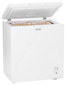 Emerson CF500 5.0 Cubic Foot Chest Freezer, White