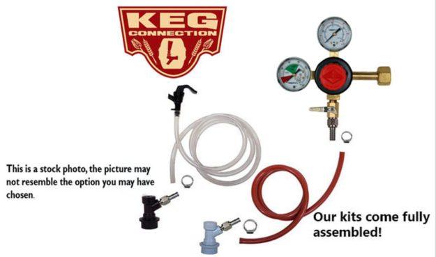1 Faucet Basic Homebrew Kegerator Kit