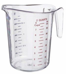 2-Quart Plastic Measuring Cup