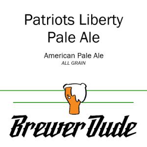 Patriots Liberty Pale Ale