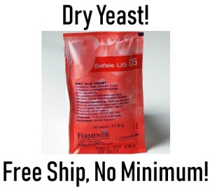 dry beer yeast deal
