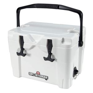 Igloo Sportsman 20Qt Rotomold Cooler, White, One Size