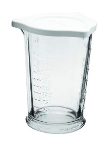 Anchor 77832 Triple Pour Measuring Cup, 5 x 3.75 x 3.75 inches, Clear