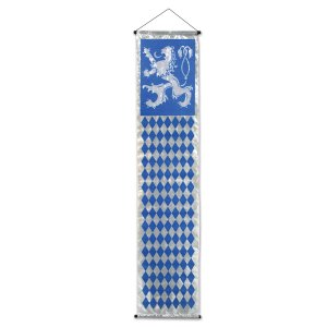 "Beistle 54295 Oktoberfest Velvet-Lame Door Panel, 12.25"" x 4' 8.5"""