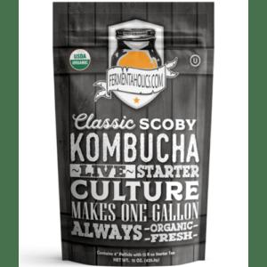 Fermentaholics - Classic Kombucha SCOBY Starter Culture KOM110