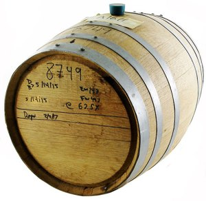 Used Whiskey Barrel - 5 Gallon