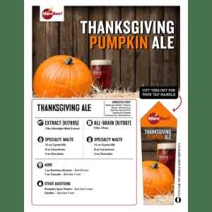 homebrew pumpkin ale