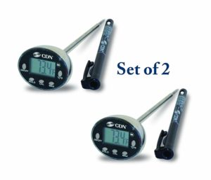 CDN DTQ450X ProAccurate Quick-Read Thermometer (Pack Of 2)