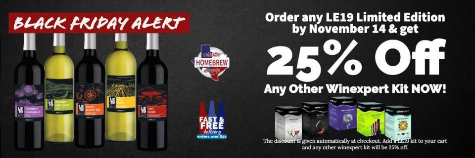 LE19 Wine Kits