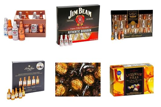 beer and liquid gift candies