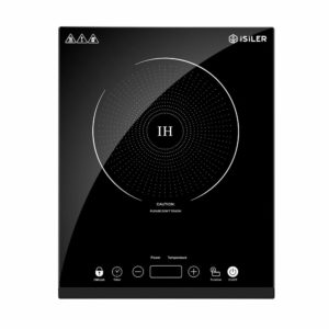 Portable Induction Cooktop, iSiLER 1800W Sensor Touch Electric Induction Cooker Cooktop
