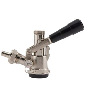 Bev Rite DW4701 BevRite CK701D American D System Beer Keg Coupler Sankey Tap Lever Handle, 5/16, Chrome