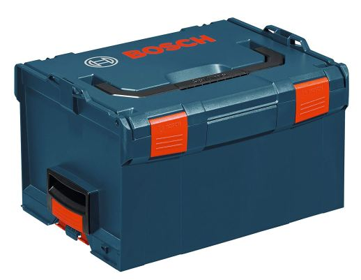 Bosch L-BOXX-3 10 In. x 14 In. x 17.5 In. Stackable Tool Storage Case