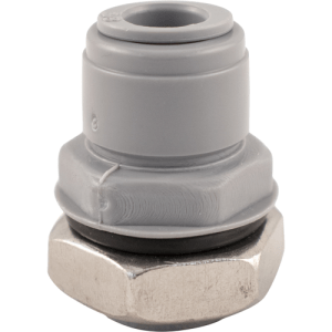 Duotight Push-In Bulkhead - 9.5 mm (3/8 in.) x 1/2 in. BSP DUO124