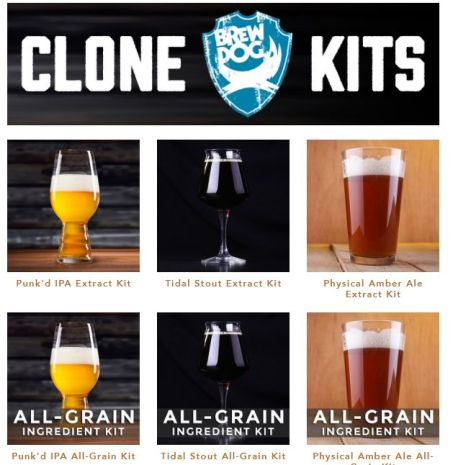 brewdog homebrew clone