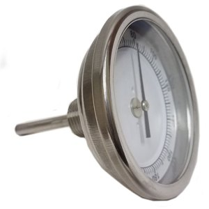 """Brewing Thermometer 1/2"""" NPT with 2.5"""" Probe"""