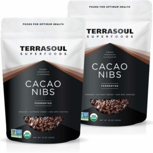 Terrasoul Superfoods Raw Organic Cacao Nibs, 2 Lbs (2 Pack) - Raw | Keto | Vegan