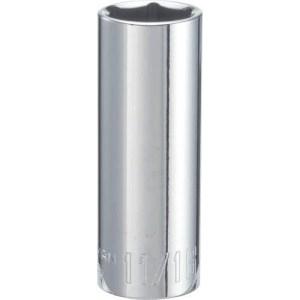 CRAFTSMAN Deep Socket, SAE, 3/8-Inch Drive, 11/16-Inch, 6-Point (CMMT43336)