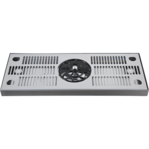 Glass Rinser Drip Tray - 18 in. (Stainless) D1485
