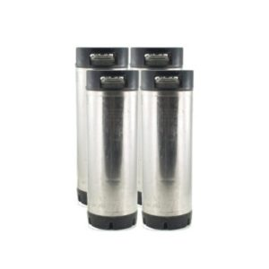 deal Set of Four 5 Gallon Kegs, Ball Lock (Used)