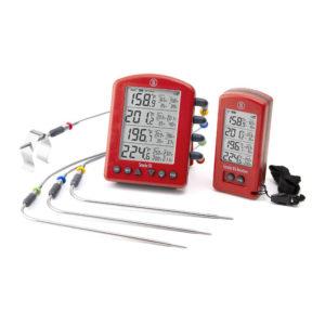 Smoke X™ Long-Range Wireless BBQ Alarm Thermometer