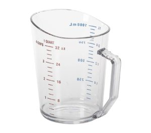 Measure Cup 1 Quart Clear