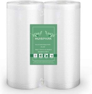 8''x50' Vacuum Sealer Food Grade Bags Heat Sealing Bag Sous Vide(2-Pack Roll)
