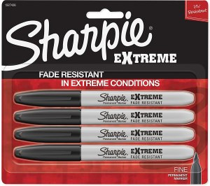 SHARPIE Extreme Permanent Markers, Black