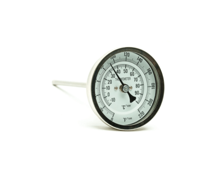 AIH Thermometer 6 in. probe