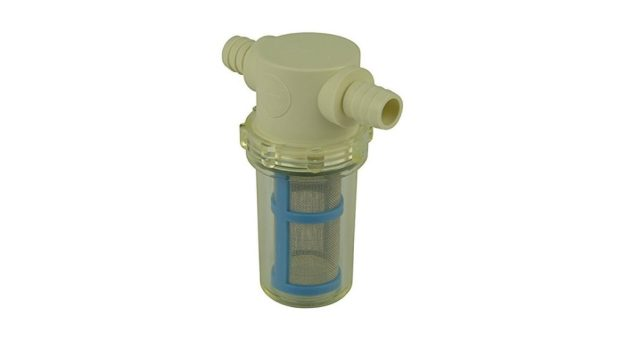 """1/2"""" Hose Barb in-Line Strainer with 50 mesh Stainless Steel Filter Screen"""