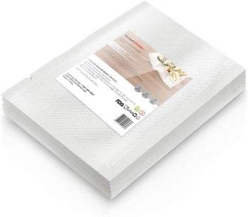 """Heavy Duty Vacuum Sealer Bags For Food, 50 Pint 6""""x 10"""" Food Saver Bag for FoodSaver, Seal a Meal, Geryon Vacuum Machine, Commercial Grade, BPA Free Vacuum Seal Bag Perfect for Sous Vide"""