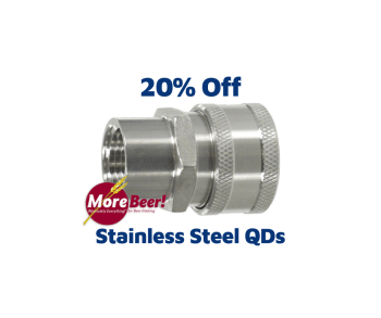 morebeer.com stainless steel quick disconnects qd