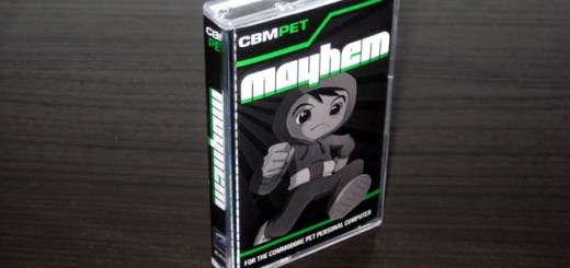 Mayhem for the Commodore PET - Packaging