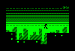 Rush for the Commodore PET (ingame)