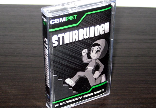 Stairrunner for the Commodore PET packaging