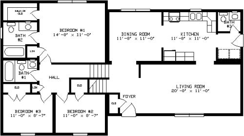 Custom Home Magazine: A custom home with a split-level layout