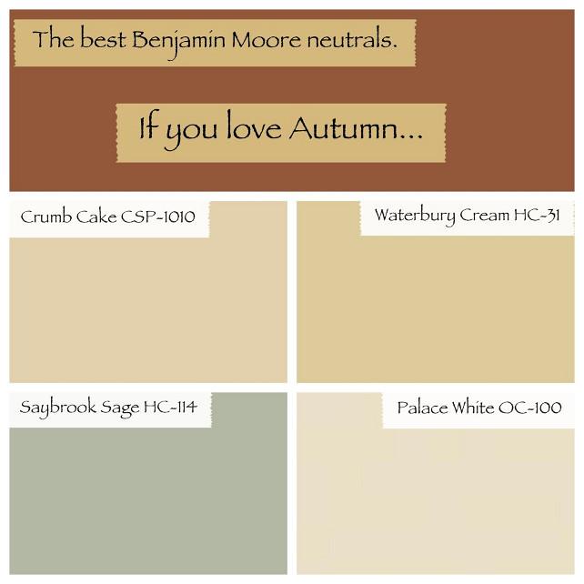 Best Warm Neutral Paint Colors Benjamin Moore