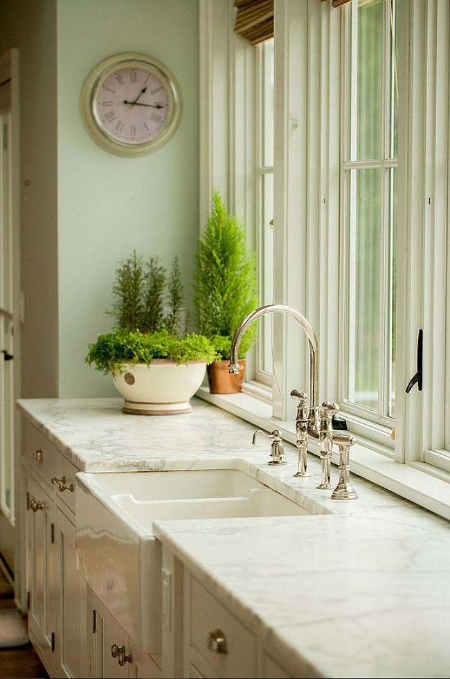 Farmhouse Kitchen Renovation - Home Bunch Interior Design ... on Farmhouse Countertops  id=68039