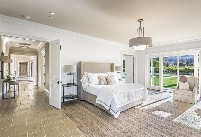 Napa Valley Farmhouse with Neutral Interiors - Home Bunch ... on Main Bedroom Decor  id=13464