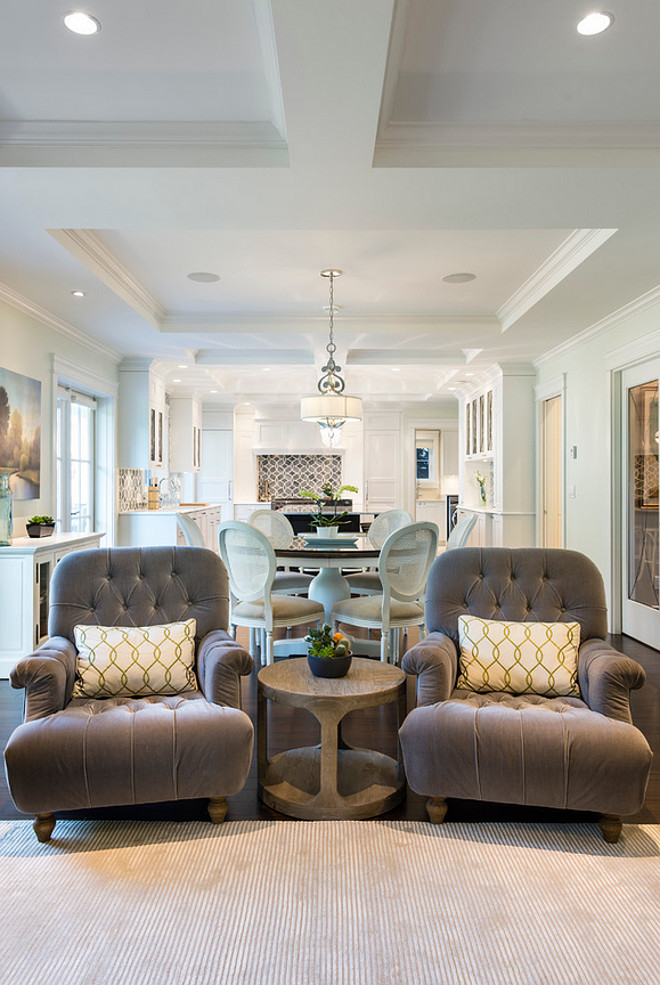 White Kitchen With Blue Gray Backsplash Tile Home Bunch Interior Design Ideas