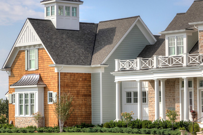 Classic Coastal-Inspired Family Home - Home Bunch Interior ... on House Siding Ideas  id=68991