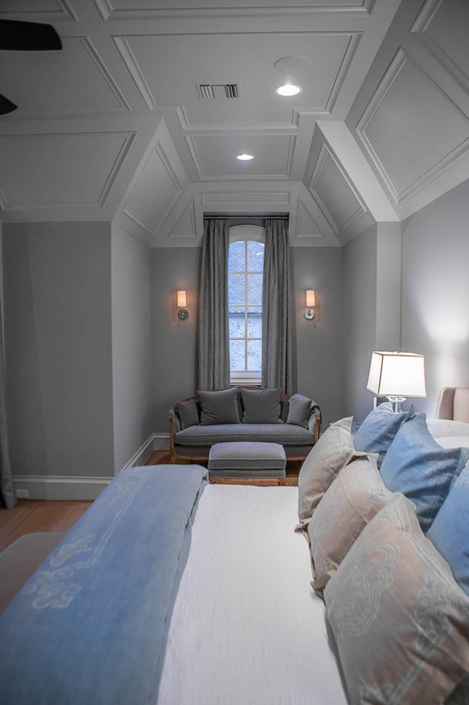 Bedroom Ceiling and Sitting Nook. Beautiful bedroom Ceiling and Sitting Nook Ideas. #BedroomCeiling #SittingNook Platinum Series by Mark Molthan