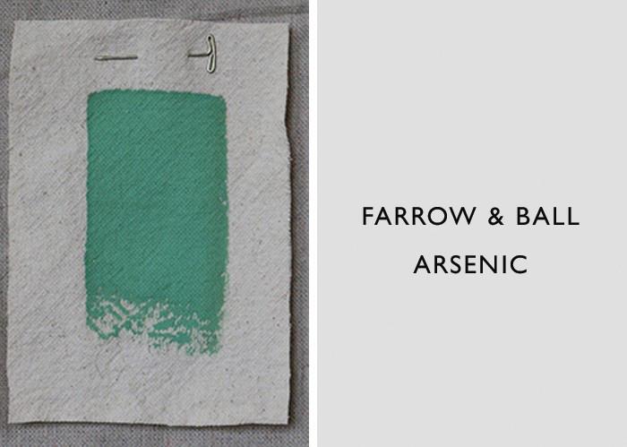 Green Paint Colors, Farrow & Ball Arsenic