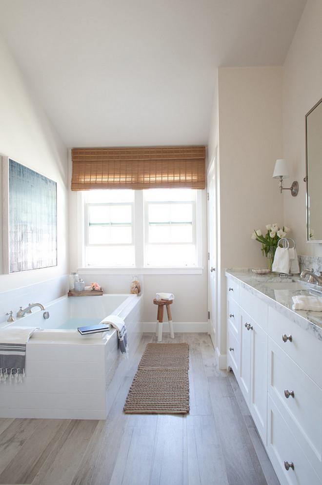 Neutral Modern Farmhouse Kitchen & Bathroom - Home Bunch ... on Farmhouse Bathroom Floor Tile  id=95469