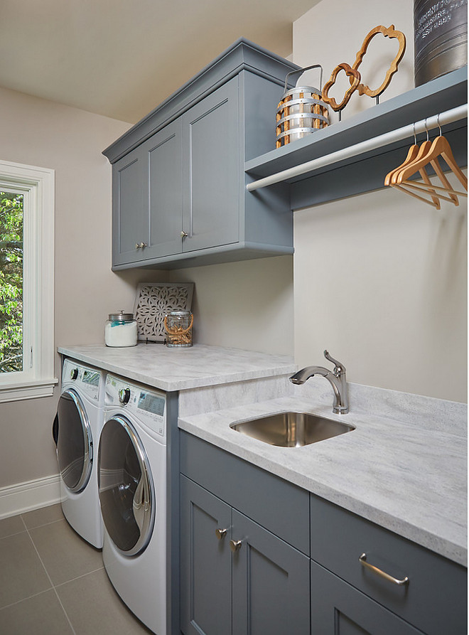 Lake Michigan Dream Vacation Home - Home Bunch Interior ... on Laundry Cabinets Ideas  id=14656