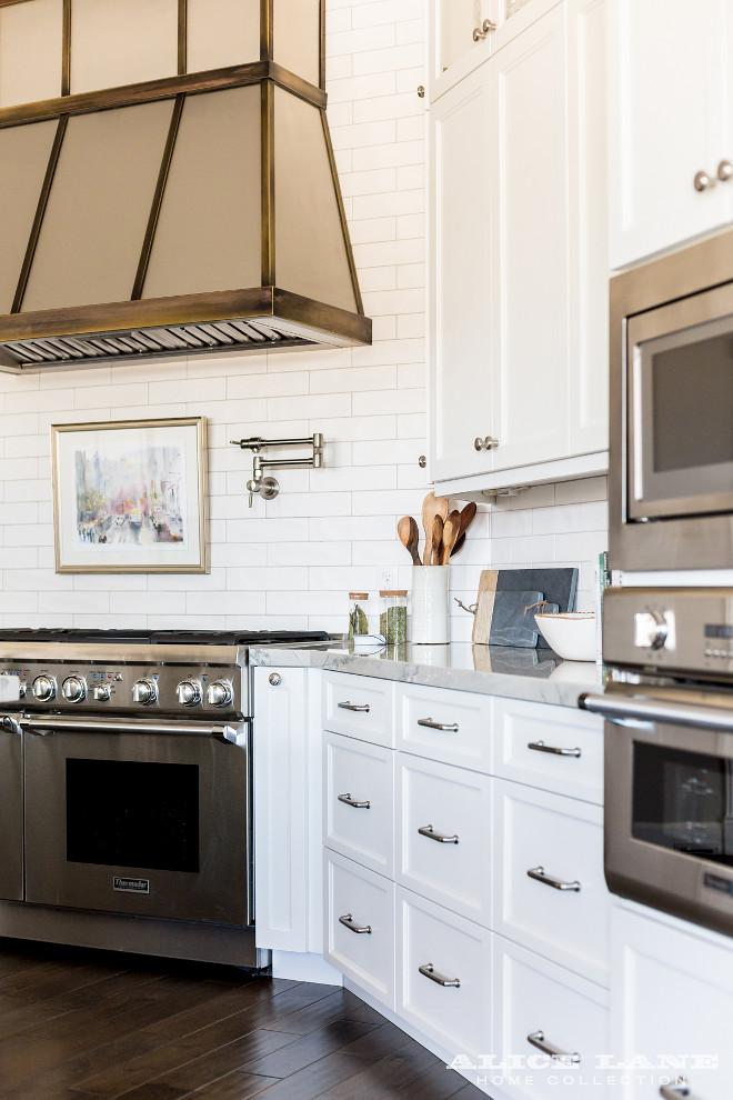White Kitchen with Navy Blue Island Reno Ideas - Home ... on Countertop Decor  id=25388
