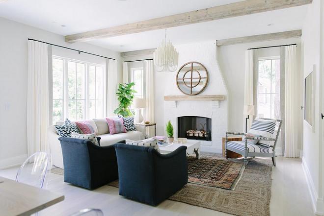Benjamin Moore Classic Grey Living Room