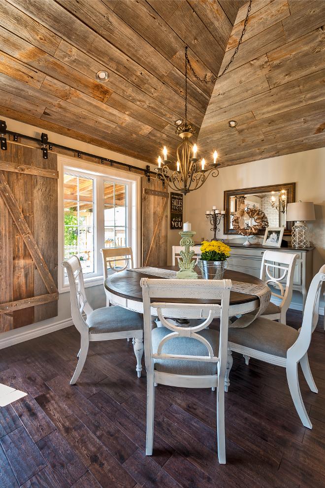 Whitewashed Brick Amp Reclaimed Barn Wood Shiplap Interiors